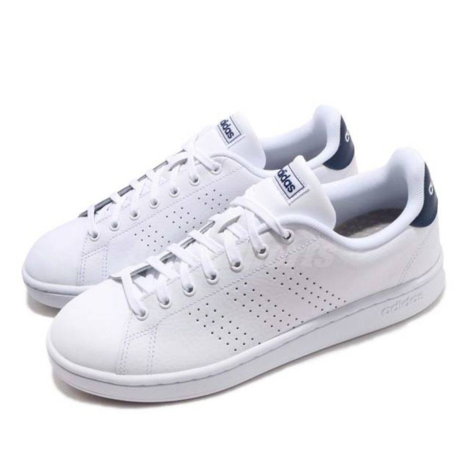 ADIDAS系列-男款 ADVANTAGE 白色休閒鞋-NO.F36423