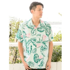 [マルイ] 【Kahiko】Hawaiianメンズアロハシャツ/チャイハネ(CAYHANE)