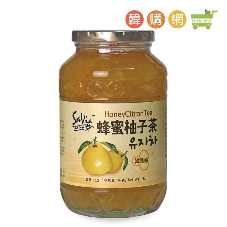 韓國世比芽蜂蜜柚子茶1kg【韓購網】