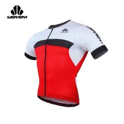 SOOMOM 男雷尼短車衣-單車 自行車 速盟 紅黑白