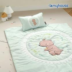BabyTiger虎兒寶  MYHOUSE  韓國防蟎兒童睡袋 - 經典熊