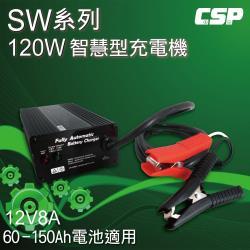 電動車充電器SW12V8A智慧型自動充電器(120W) 電動車.電動自行車.代步車 充電器