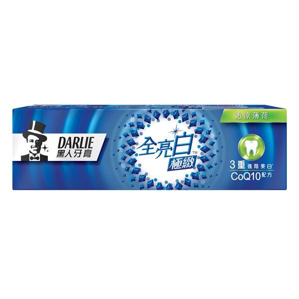 黑人全亮白極緻沁涼薄荷牙膏120g【康是美】