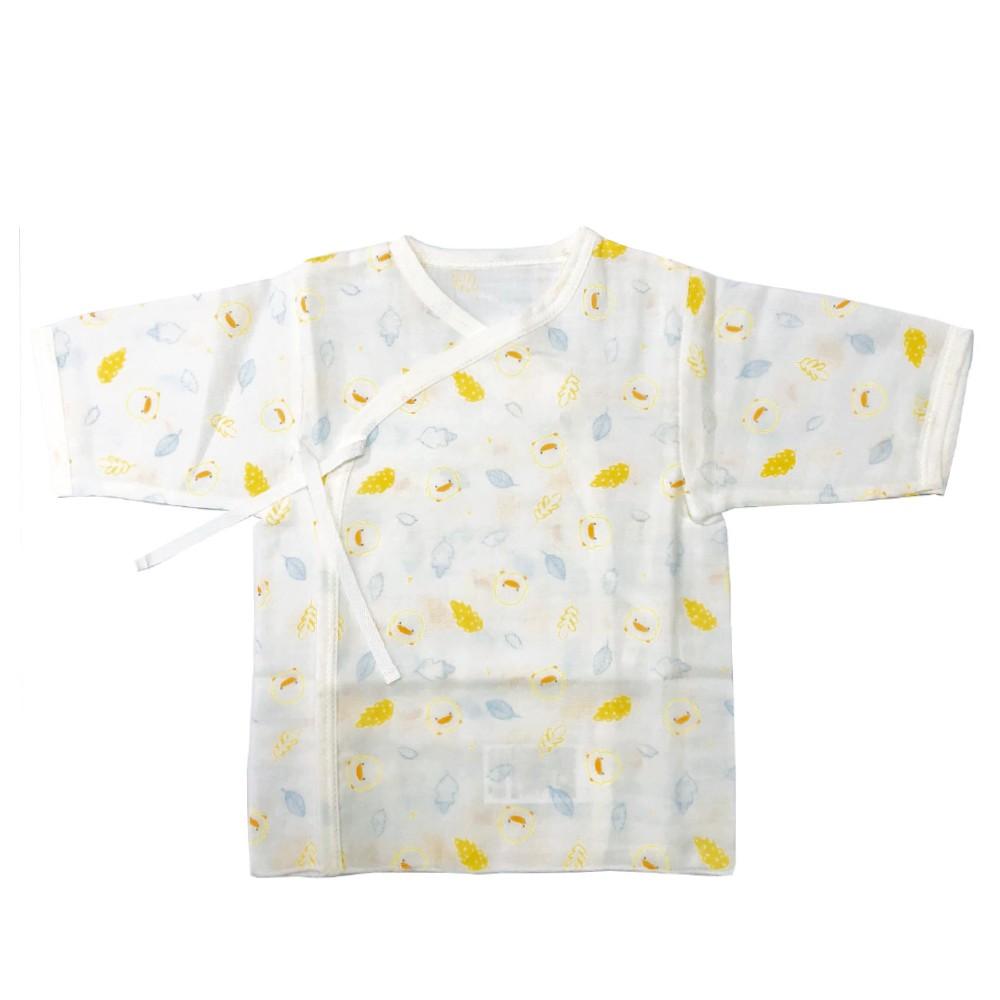 黃色小鴨純棉紗布肚衣 81661
