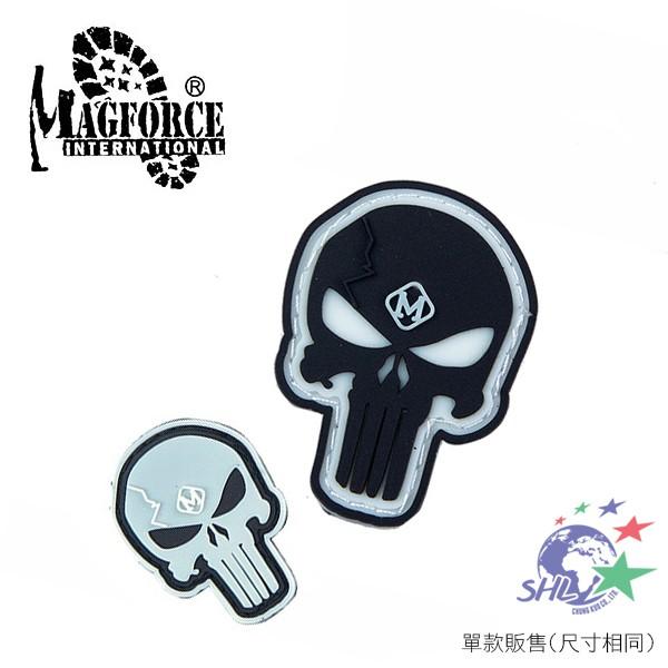Magforce 魔鬼氈 氈黏布標 / 夜光骷髏 / 臂章 / 魔鬼氈布章 / 兩色可選 / MP9104 【詮國】