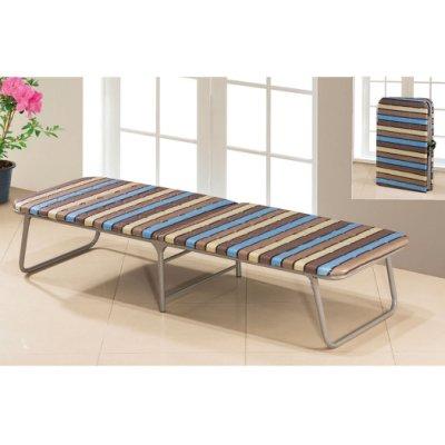 【優比傢俱生活館】21 便宜購-1號條紋折床/摺床/收合床/單人床架~收納方便 SH545-3