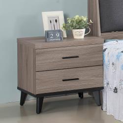 H&D 古橡木床頭櫃