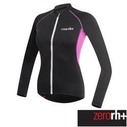 ZeroRH+ 義大利SPIRIT專業長袖自行車衣 (女) ●黑/紅、黑/白、粉紅● ECD0478