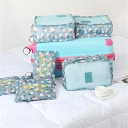 韓版行李防水收納袋六件套