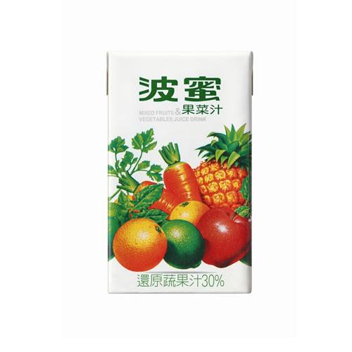 波蜜果菜汁250mlx6入【愛買】