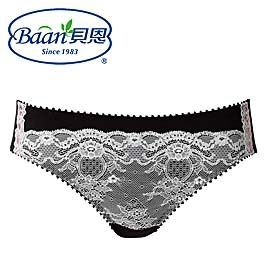 Baan 貝恩 時尚性感內褲-時尚黑【佳兒園婦幼館】