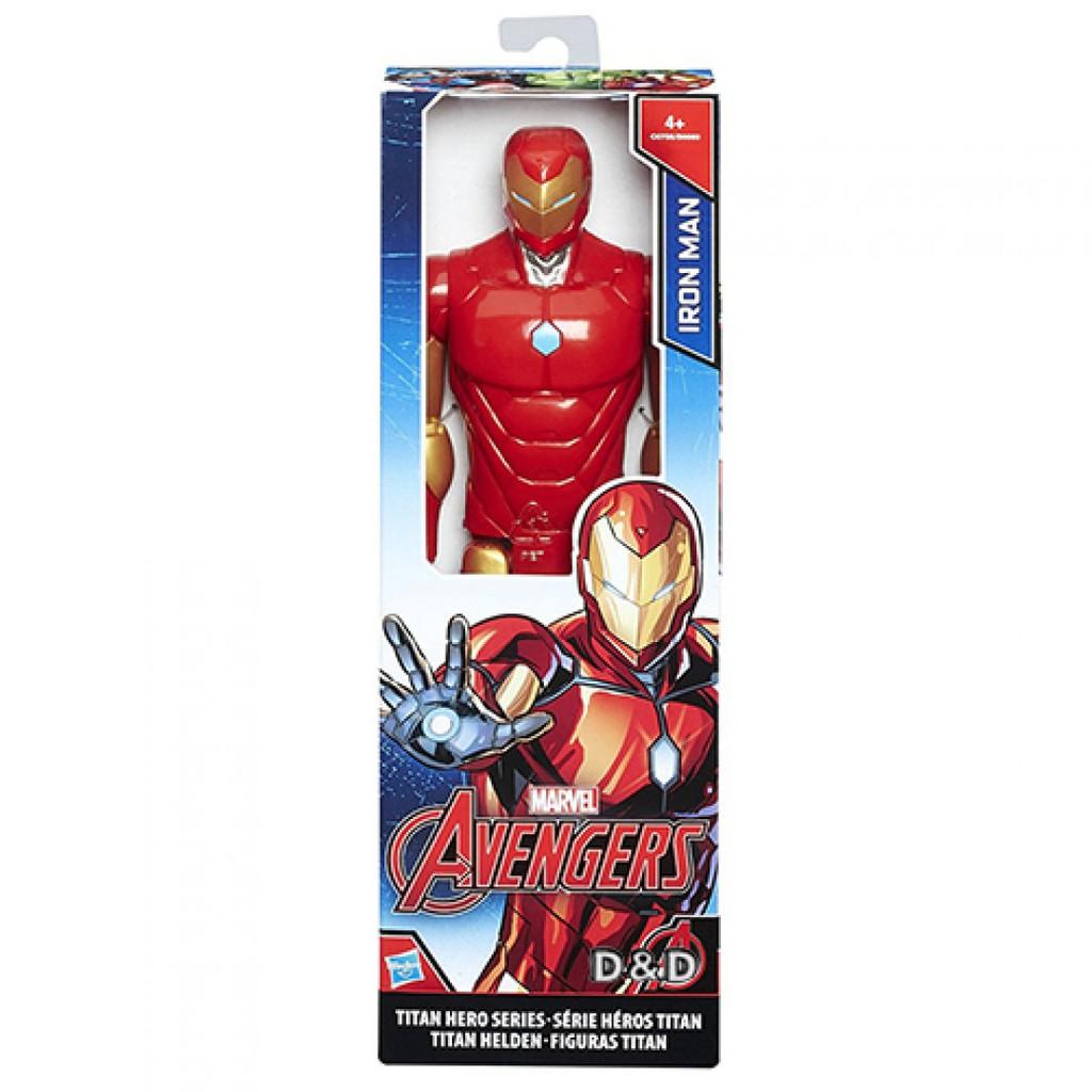 漫威復仇者聯盟 12吋泰坦英雄人物 鋼鐵人