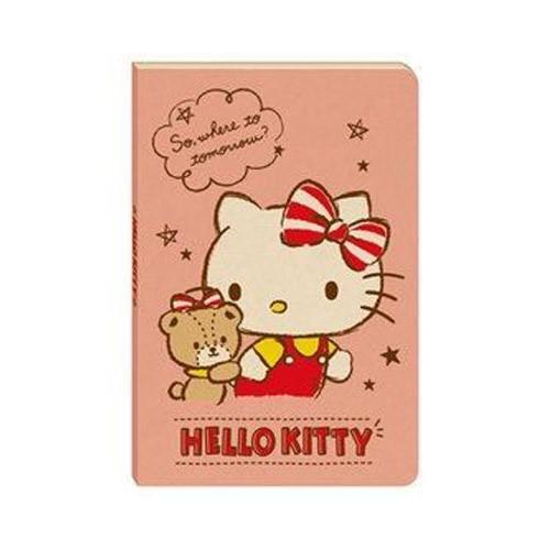 南寶興 三麗鷗 32K好可愛定頁筆記-凱蒂貓 Hello Kitty(小熊與我) VPNA-3305【金玉堂文具】