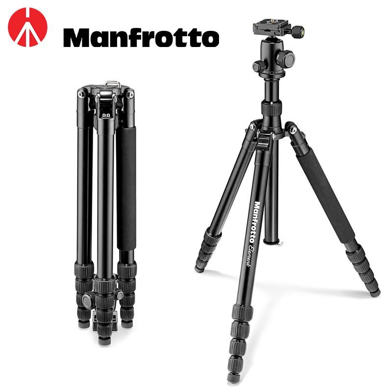 Manfrotto Element Traveler 大型反摺腳架 黑色 MKELEB5BK-BH 公司貨