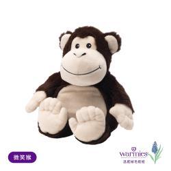 德國Warmies安撫絨毛娃娃-微笑猴