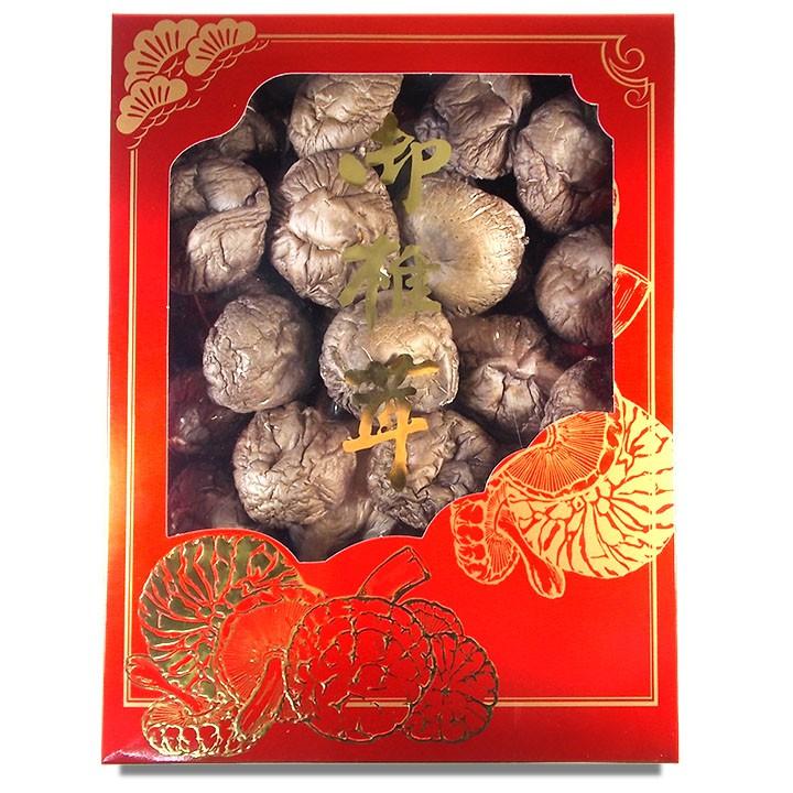 特大朵台灣香菇(500公克禮盒裝)-產地直送,超大朵,肉厚實,物超所值,當伴手禮、年節送禮超有面子 。【豐產香菇行】