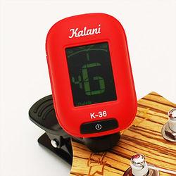 Kalani 烏克麗麗/吉他 5合1雙色冷光調音器(3色可選)+加贈 PICK