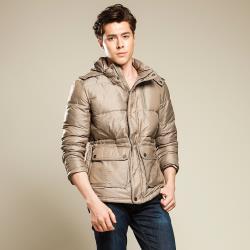 【JORDON 】男款 防潑水高充絨高保暖羽絨外套  (990)