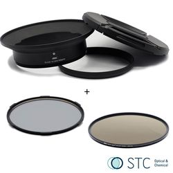 STC Screw-in Lens Adapter 超廣角鏡頭 濾鏡接環組 CPL+ND64 105mm For Panasonic 7-14mm