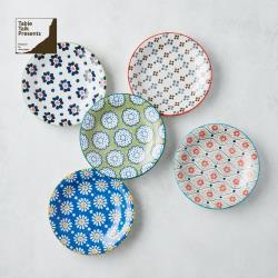有種創意 - 日本美濃燒 - 絢麗粉彩餐盤組 (5件式)