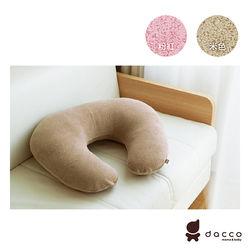 日本OSAKI-日本製授乳枕/C型枕 (粉色/米色)