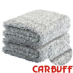 CARBUFF 車痴竹炭長毛超細纖維擦拭布 4入裝 30*60cm / MH-8308