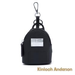 【金安德森】TIME 造型零錢包吊飾-黑色