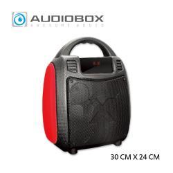 【AUDIOBOX】BBX 300  手提式藍芽無線多功能多媒體音箱_RD