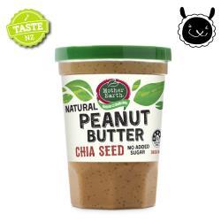 【壽滿趣Mother Earth】紐西蘭超級奇亞籽花生醬(380g)