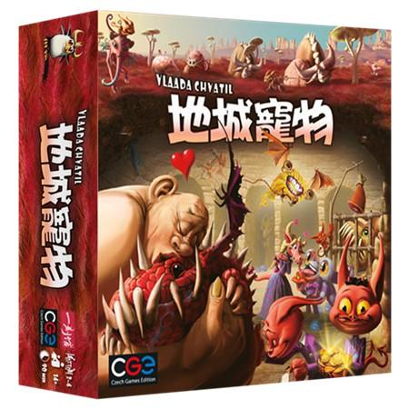 地城寵物 Dungeon Petz 桌遊 桌上遊戲【送牌套】【卡牌屋】