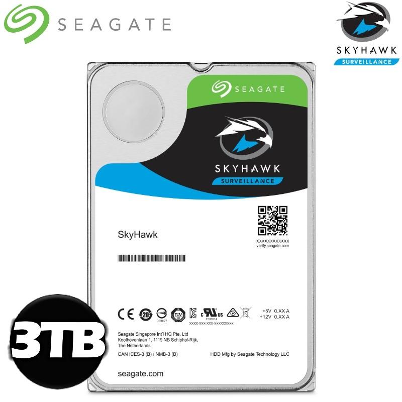 Seagate 希捷【SkyHawk】監控鷹 3TB 3.5吋 監控硬碟 (ST3000VX009)