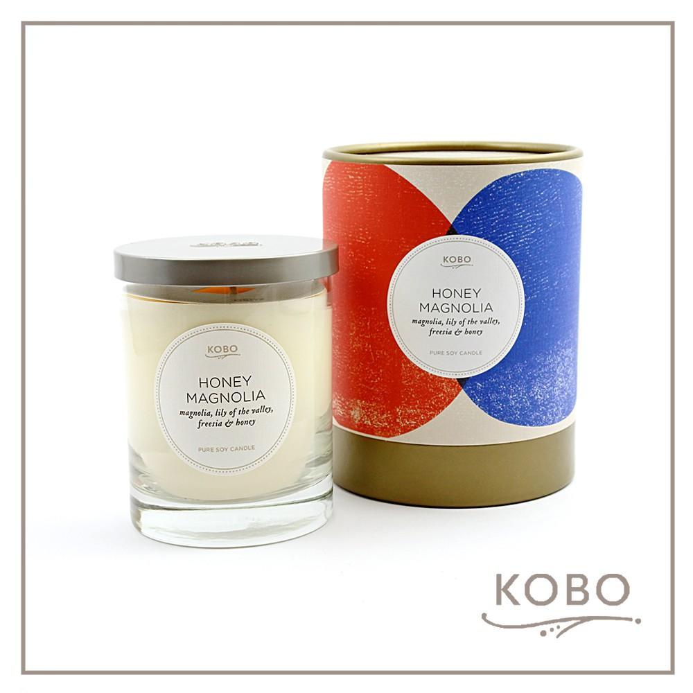 【KOBO】美國大豆精油蠟燭 - 甜蜜蘭香 (330g/可燃燒80hr)