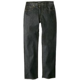 ヘインズ(Hanes) ストレッチ5ポケットジーンズ(股下84cm) ストレートジーンズ(デニム)