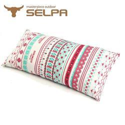 韓國SELPA 民族風多用途便攜枕/露營枕
