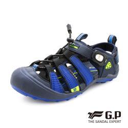 G.P 戶外越野護趾鞋G9224W-藍色(SIZE:35-39 共三色)