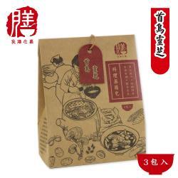 保康生醫-良善之嘉料理藥膳 首烏靈芝 (3包/盒)x3盒