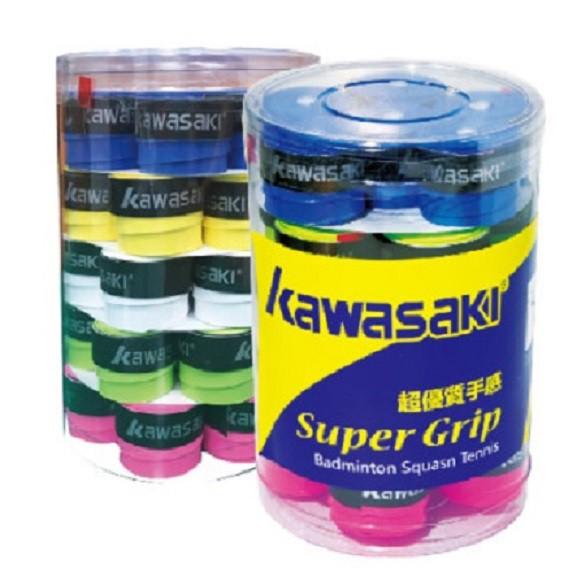 【 KAWASAKI 】握把布 特殊超黏PU材質 持拍防滑效果極佳握把布 有出5個顏色 1顆22元 【宏海護具專家】