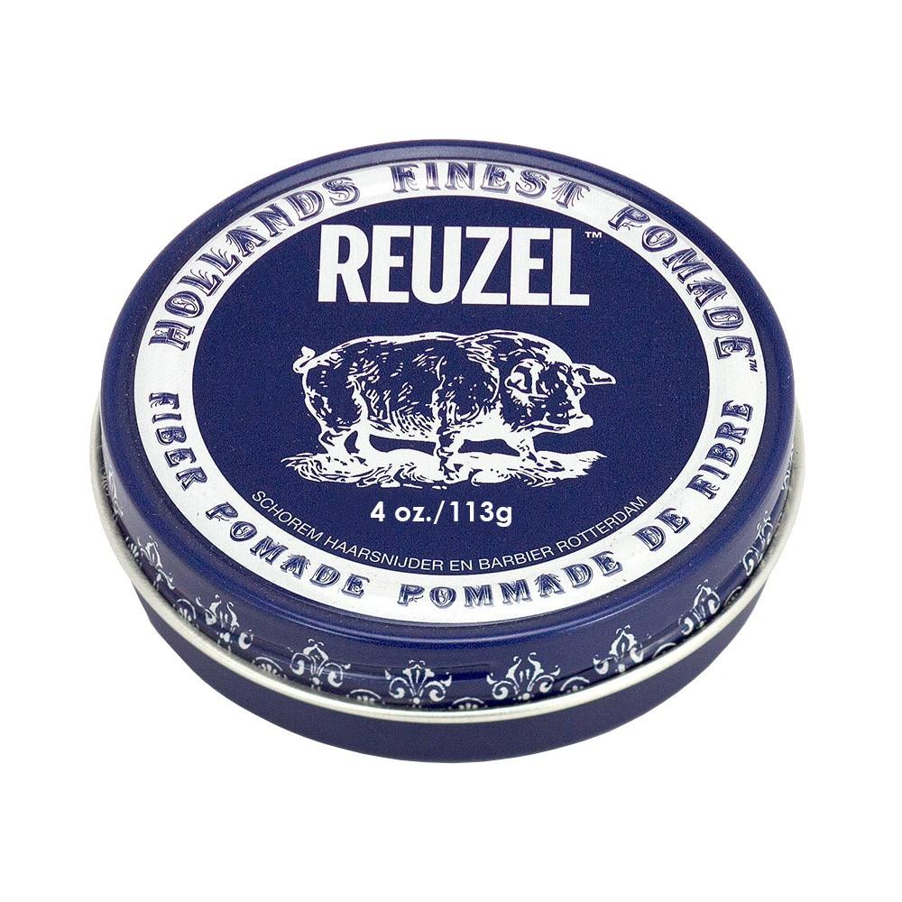 REUZEL深藍豬強力纖維級水性髮泥113g Vivo薇朵