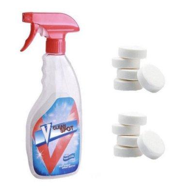 美國InVinceable 強效多功能萬用去污劑補充包 (泡沸片10片組合補充套裝,不含噴霧罐)