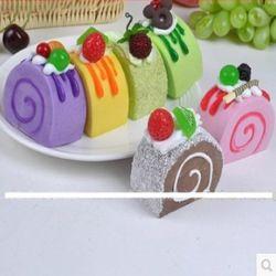 [協貿國際]   仿真慕捲心蛋糕