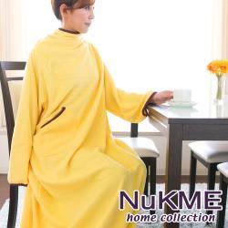 棉花田 NuKME 時尚多功能創意袖毯-黃色