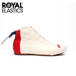 【Royal Elastics】女-London HI 帆布休閒鞋-薔薇紅(93482-001)