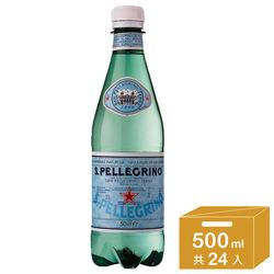 聖沛黎洛 氣泡礦泉水 瓶裝(500mlx24入)