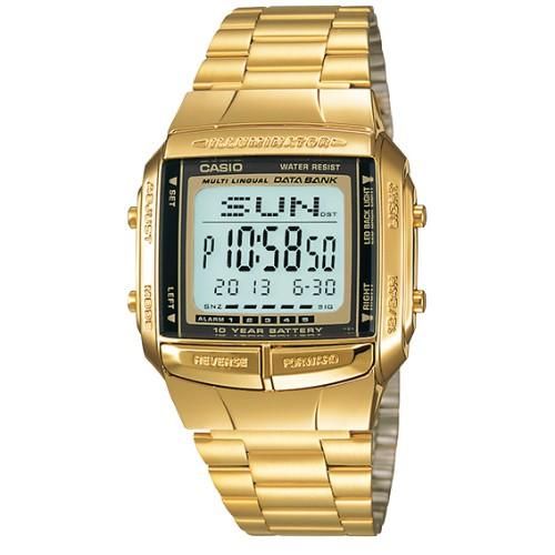 【CASIO】金色夢幻復刻電子錶(DB-360G-9A)正版宏崑公司貨