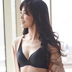 【蕾黛絲】挺素面V版型 B-C罩杯內衣(時尚黑)