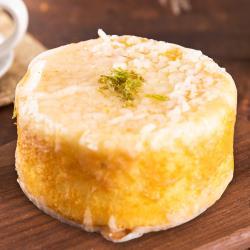 預購-樂活e棧-生日快樂蛋糕-檸檬糖霜蛋糕(320g/顆,共1顆)