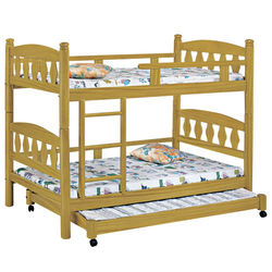 【時尚屋】[G16]烏心石3.8尺子床型雙層床G16-082-1不含床墊