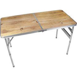 BROTHER兄弟牌攜帶式折疊鋁桌120x60cm