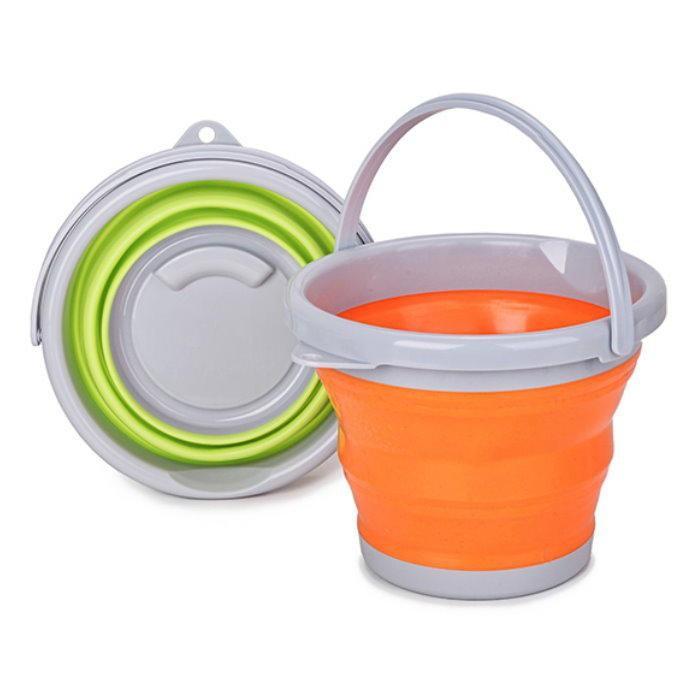 折疊水桶 便攜式水桶 折疊水盆 摺疊水桶 泡腳桶【GE115】
