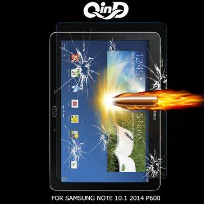 --庫米--QIND 勤大SAMSUNG NOTE 10.1 2014 P600 9H鋼化玻璃貼 保護貼